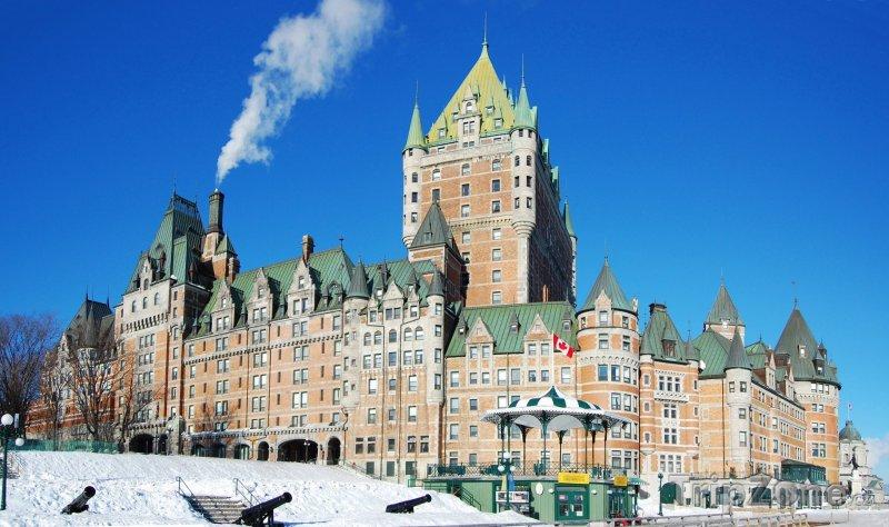 Fotka, Foto Hotel Chateau Frontenac (Kanada)
