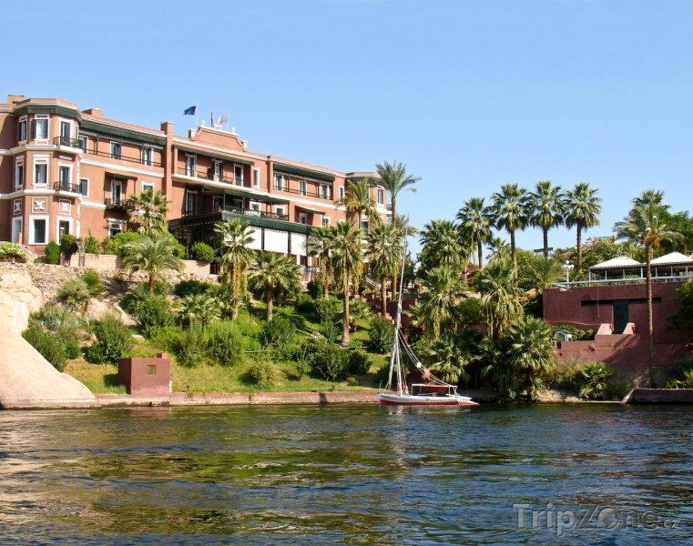 Fotka, Foto Hotel na břehu Nilu (Asuán, Egypt)
