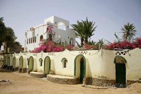 Hotel ve městě Dahab