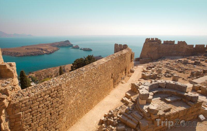Fotka, Foto Hradby Johanitské pevnosti (Líndos, Řecko)