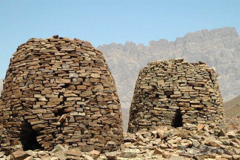 Fotka, Foto Hrobky v regionu Ad Dhahirah (Omán)