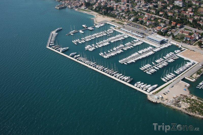 Fotka, Foto Jachty v přístavu (Split, Chorvatsko)