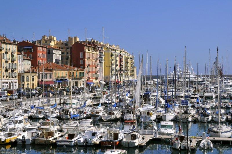 Fotka, Foto Jachty v přístavu (Nice, Francie)