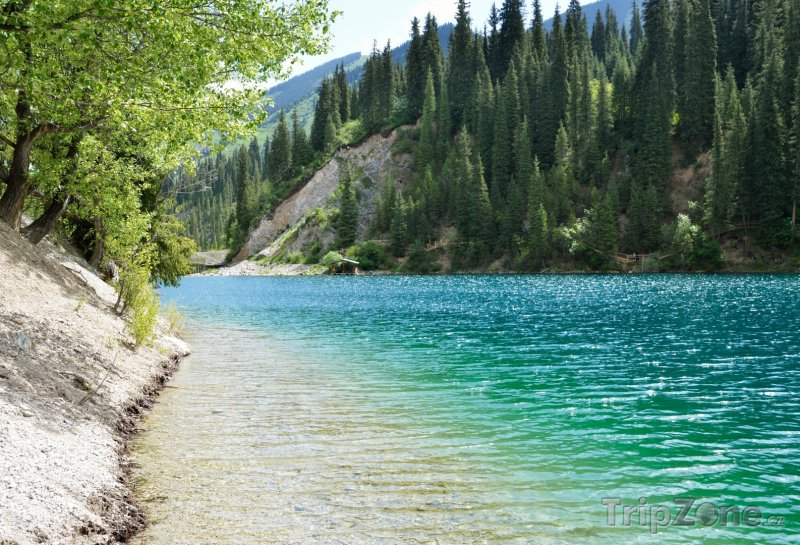 Fotka, Foto Jezero Kolsay (Kazachstán)