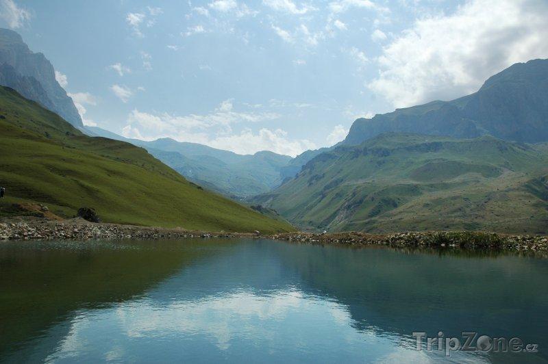 Fotka, Foto Jezero v horách (Ázerbájdžán)