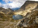 Jezírko v Pyrenejích