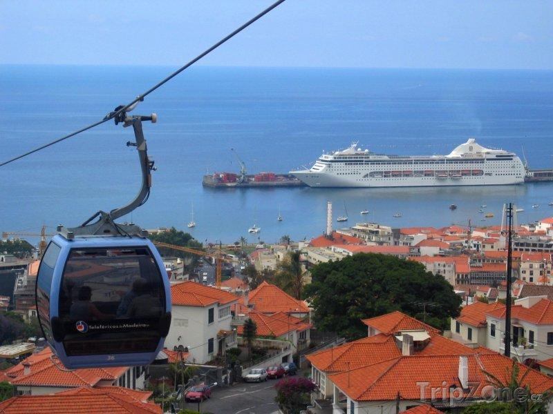 Fotka, Foto Kabina lanové dráhy (Funchal, Portugalsko)