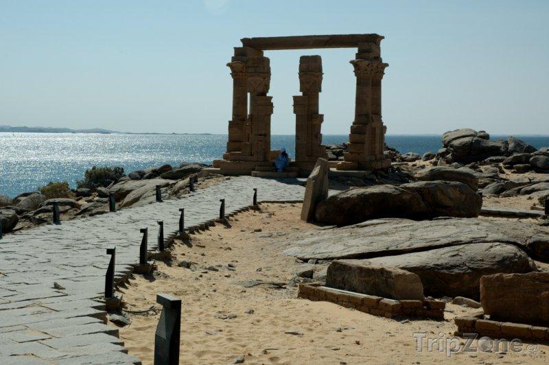 Fotka, Foto Kalabsha Temple v Asuánu (Asuán, Egypt)