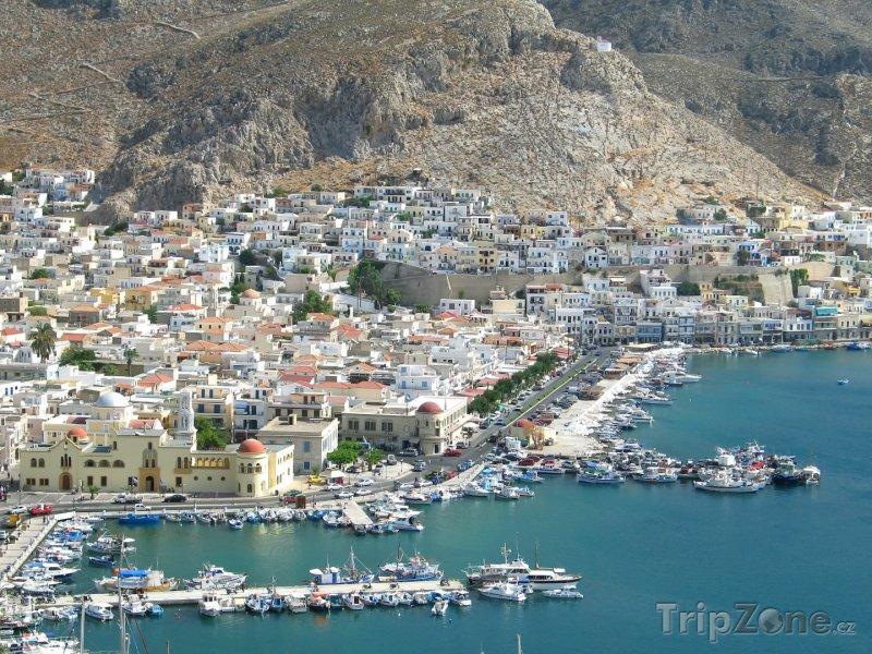 Fotka, Foto Kalymnos - přístav (Řecko)