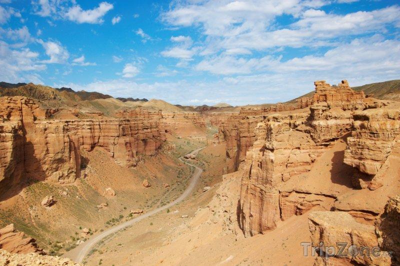 Fotka, Foto Kaňon Charyn (Kazachstán)