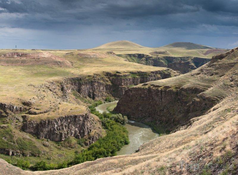 Fotka, Foto Kaňon na hranici s Tureckem (Arménie)