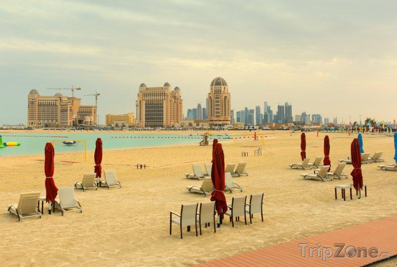 Fotka, Foto Katara Beach v Dauhá (Katar)