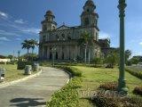 Katedrála Santo Domingo ve městě Managua