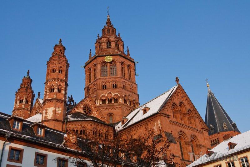 Fotka, Foto Katedrála v Mohuči (Německo)
