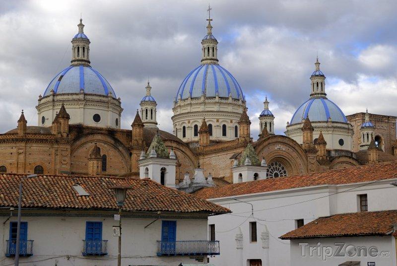 Fotka, Foto Katedrála ve městě Cuenca (Ekvádor)