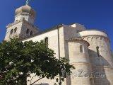 Katedrála ve městě Krk