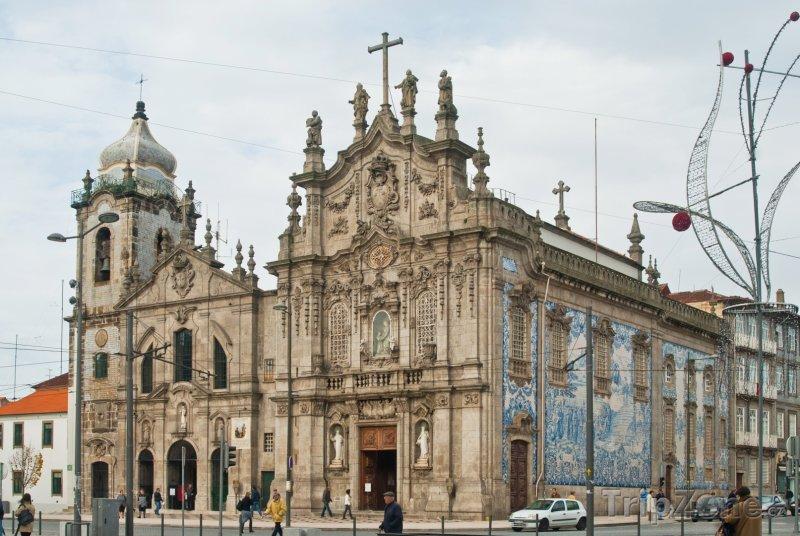 Fotka, Foto Kostel Igreja dos Carmelitos (Porto, Portugalsko)