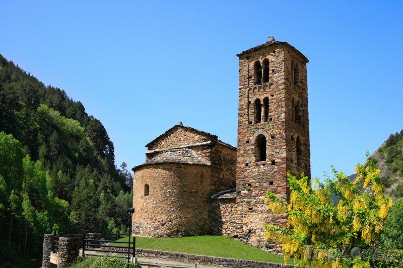 Fotka, Foto Kostel San Joan de Caselles (Andorra)