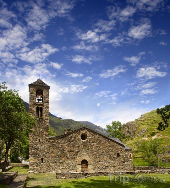 Fotka, Foto Kostel Sant Martí de la Cortinada (Andorra)