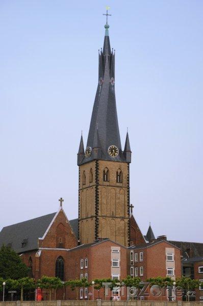 Fotka, Foto Kostel St. Lambertus (Düsseldorf, Německo)