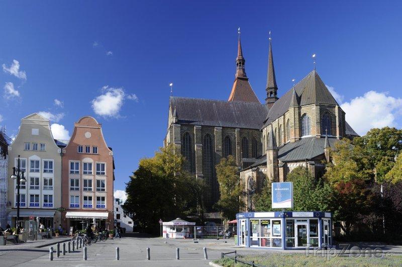 Fotka, Foto Kostel Sv. Marie v Rostocku (Německo)