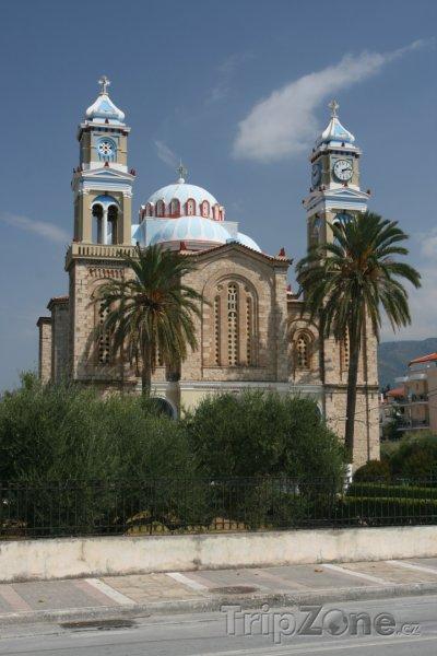 Fotka, Foto Kostel ve městě Karlovasi (Samos, Řecko)