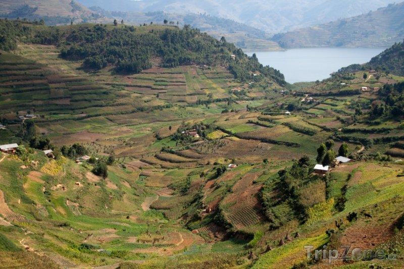 Fotka, Foto Krajina u jezera Bunyonyi (Uganda)