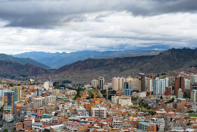 Fotka, Foto La Paz panorama (Bolívie)