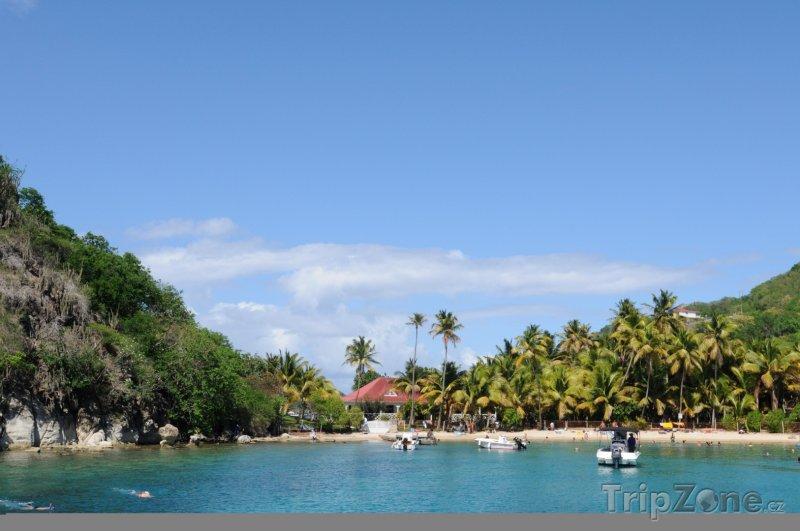 Fotka, Foto Laguna na ostrově Les Saintes (Guadeloupe)
