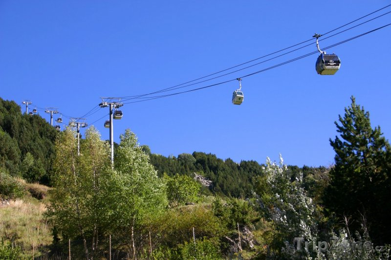 Fotka, Foto Lanová dráha (Andorra)