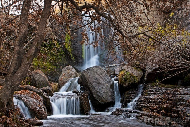 Fotka, Foto Lesní vodopád (Arménie)