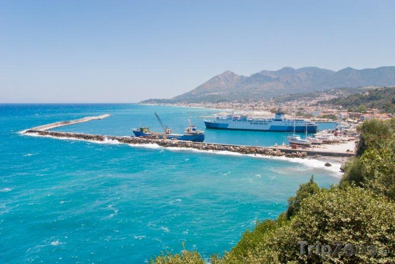 Fotka, Foto Lodě v přístavu (Samos, Řecko)