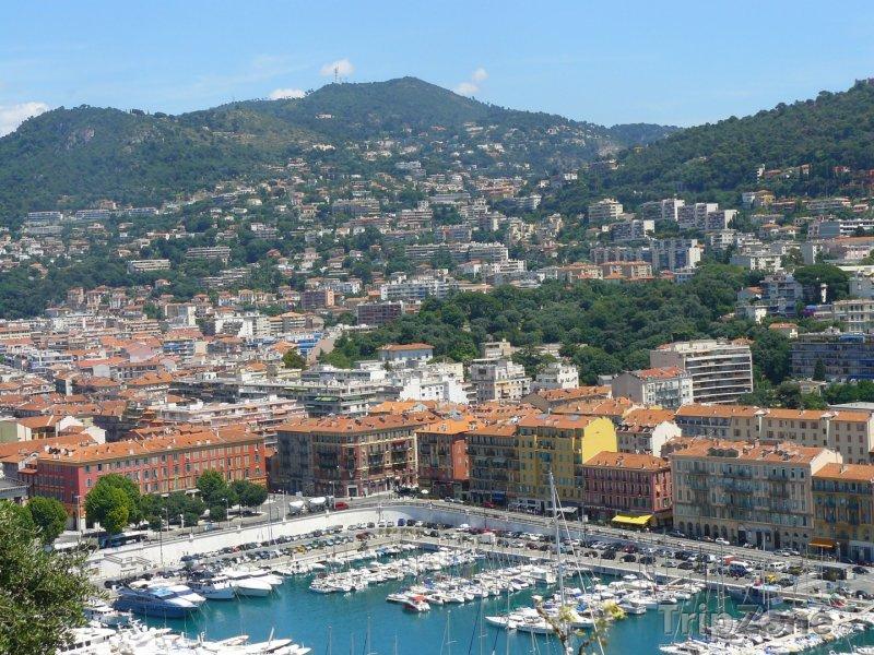 Fotka, Foto Lodě v přístavu (Nice, Francie)