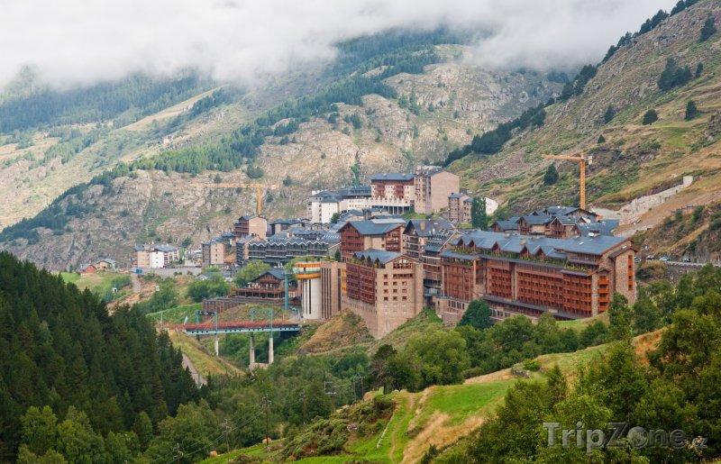 Fotka, Foto Lyžařské město Soldeu (Andorra)