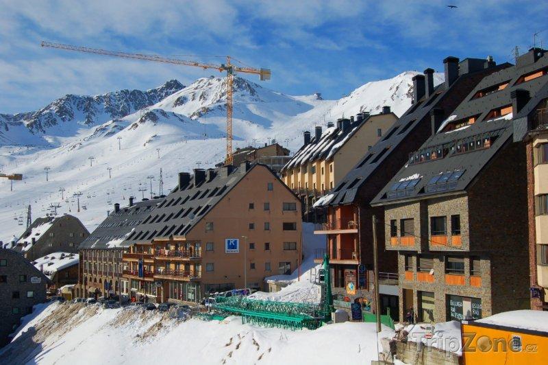 Fotka, Foto Lyžařské středisko El Pas de la Casa (Andorra)