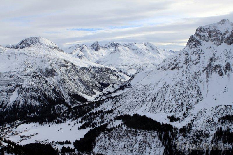 Fotka, Foto Lyžařské středisko Sankt Anton (Rakousko)
