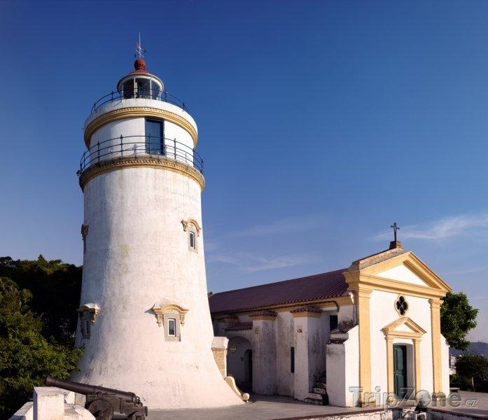 Fotka, Foto Maják v pevnosti Guia (Macao)