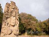 Mayský monument stelae