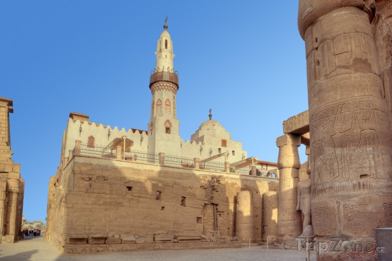 Fotka, Foto Mešita Abu Haggag (Luxor, Egypt)