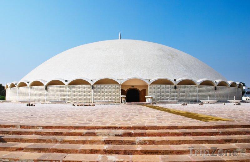 Fotka, Foto Mešita e Tooba v Karáčí (Pákistán)