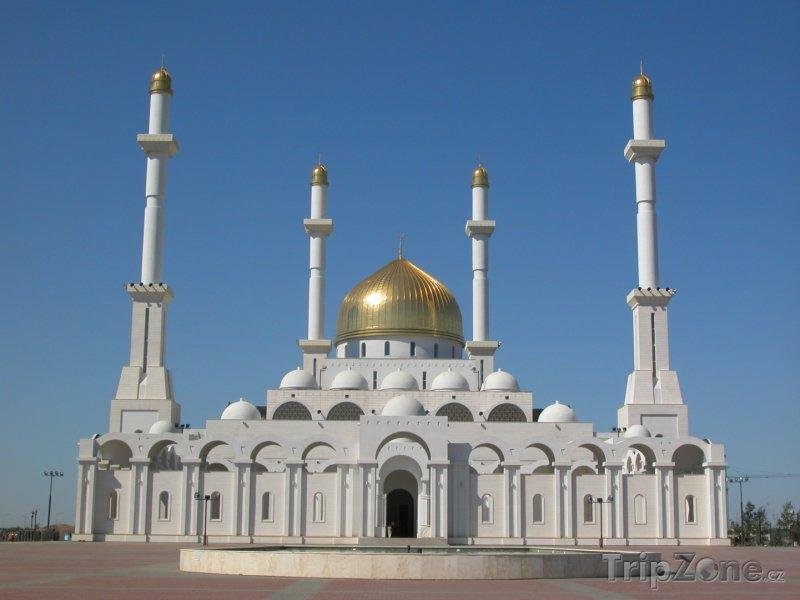 Fotka, Foto Mešita Nur-Astana v Astaně (Kazachstán)