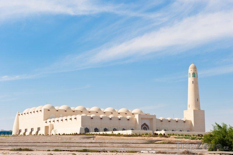 Fotka, Foto Mešita v Dauhá (Katar)