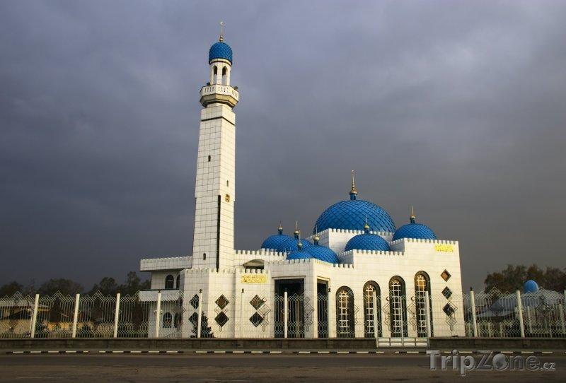 Fotka, Foto Mešita ve městě Almaty (Kazachstán)