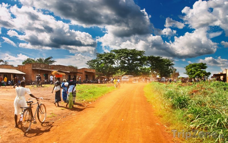Fotka, Foto Městečko Kakiri (Uganda)