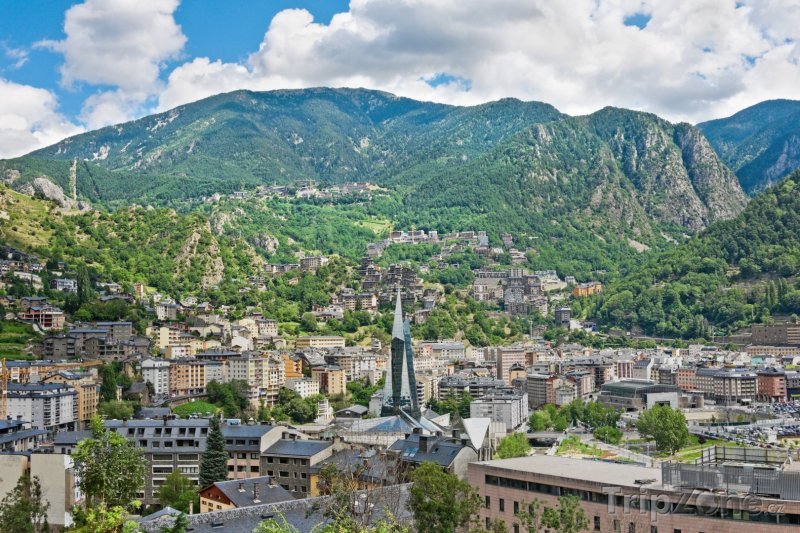 Fotka, Foto Město Andorra La Vella (Andorra)
