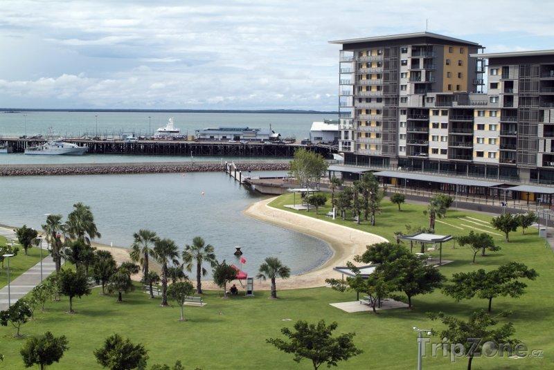 Fotka, Foto Město Darwin a Timorské moře (Austrálie)