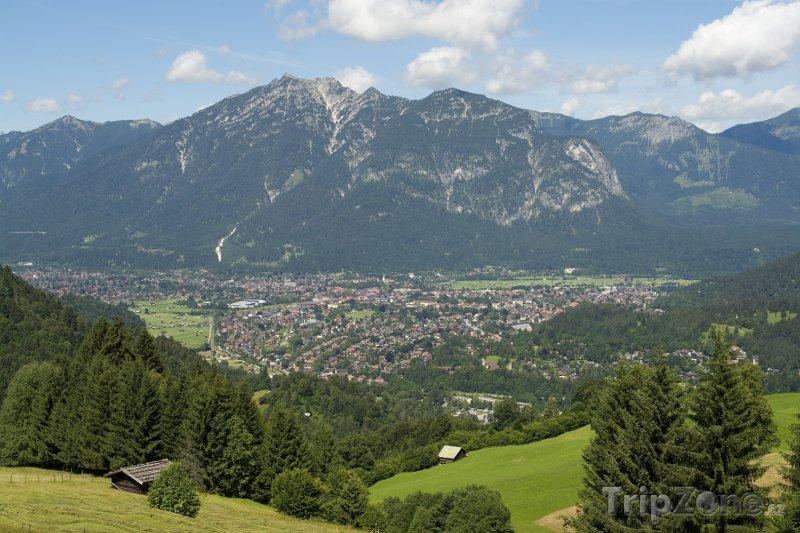 Fotka, Foto Město Garmisch-Partenkirchen (Německo)