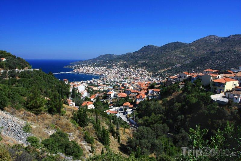 Fotka, Foto Město Pigadia (Samos, Řecko)
