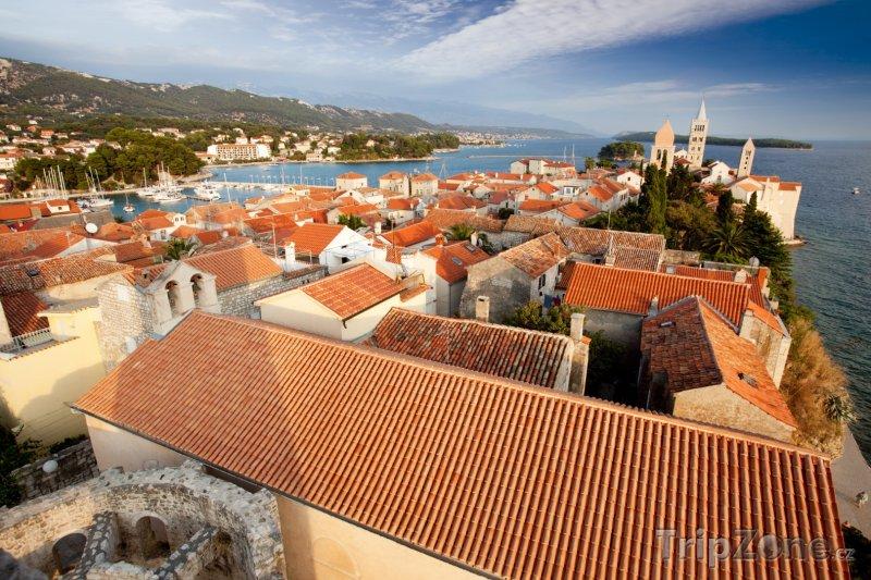 Fotka, Foto Město Rab panorama (Rab, Chorvatsko)