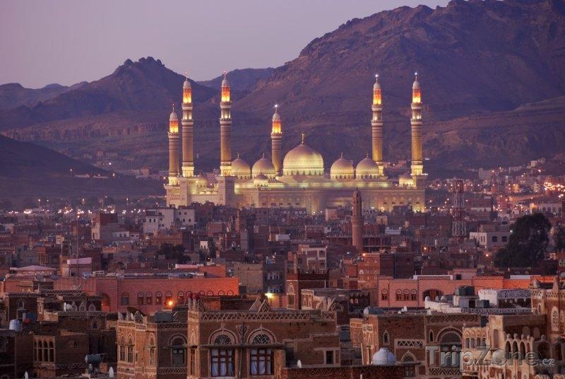 Fotka, Foto Město Sanaa (Jemen)